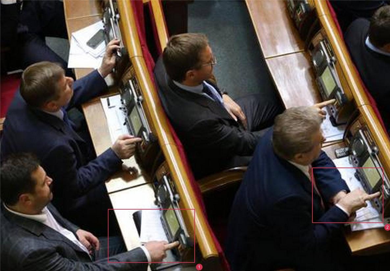 """В новой Верховной Раде пойман первый """"кнопкодав"""" - Цензор.НЕТ 8891"""